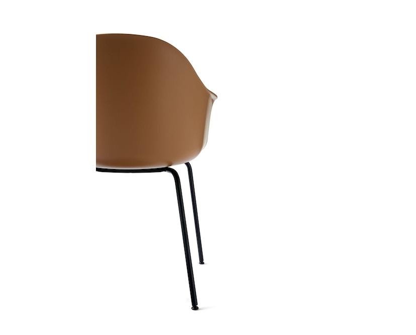 Menu - Harbour Dining Chair ohne Polster, Khaki - Black Steel - 5
