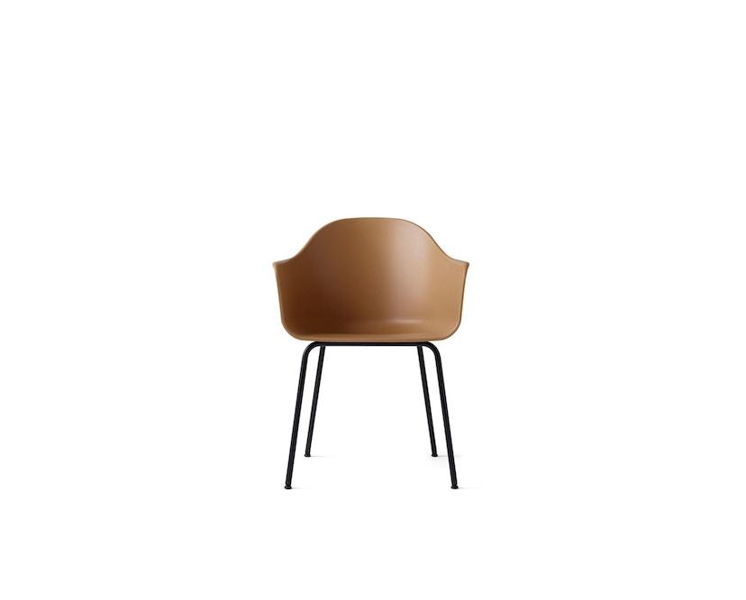 Menu - Harbour Dining Chair ohne Polster, Khaki - Black Steel - 7