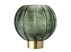 Bloomingville - Vase, grün, gold , Glas - 0