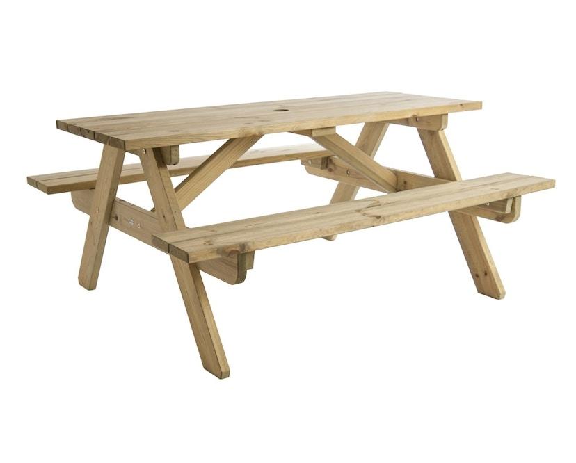 Alexander Rose - Pine Woburn Picknicktisch - 148 cm - 3