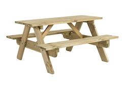 Pine Kinderen Picknicktafel