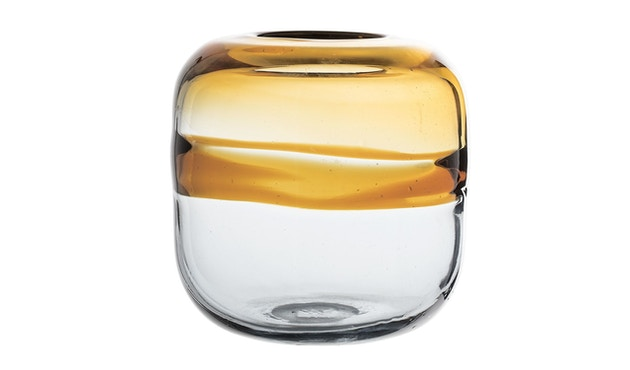 Bloomingville - Vase - Glas - braun - 1