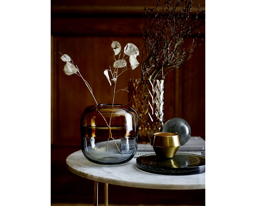 Bloomingville - Vase - Glas - braun - 2