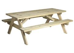 Pine Woburn Picknicktisch hochbelastbar