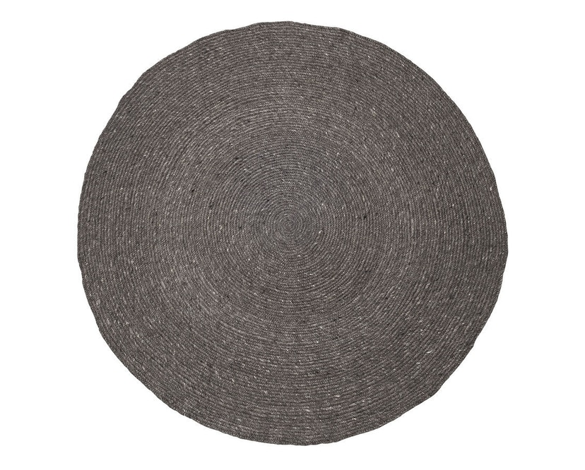 Bloomingville - Teppich - grau - Wolle - Ø 140cm - 0