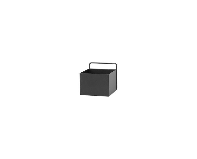 ferm LIVING - Wall Box - zwart - vierkant - 1