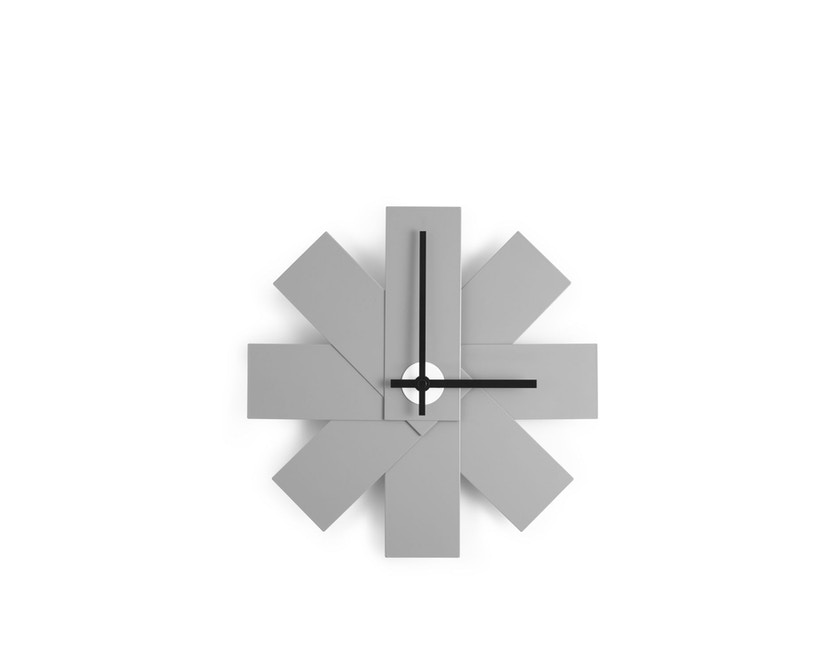 Normann Copenhagen - Watch Me Wanduhr - grau - 1