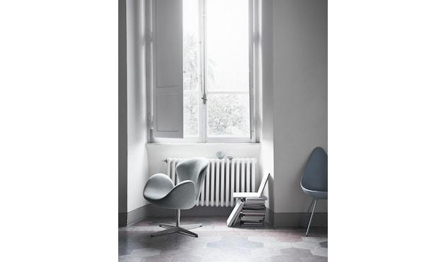 Fritz Hansen - Drop Stuhl - anthrazit - Gestell lackiert - 11