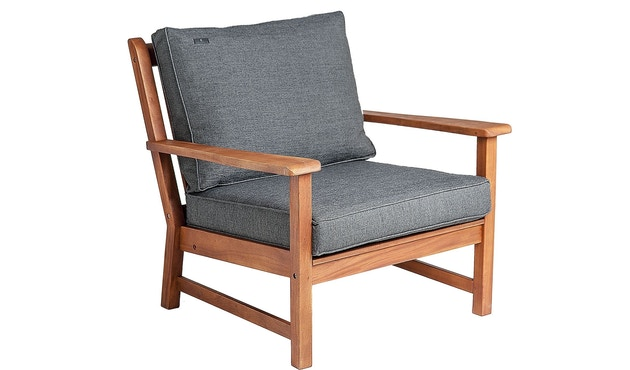Alexander Rose - Cornis Broadfield Loungesessel - Charcoal - 3