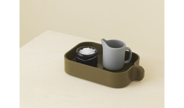 Normann Copenhagen - Bent Box - elm green - 2