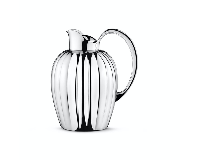 Georg Jensen - Bernadotte Thermoskanne chrom 0,8 l - 1