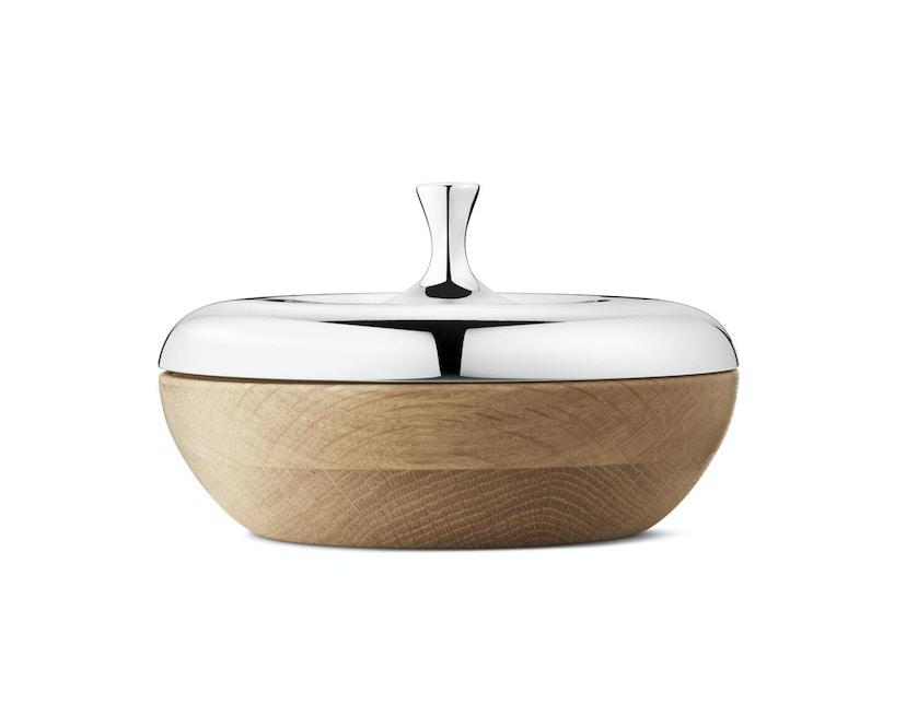 Henning Koppel Bonbonniere Turnip - stainless steel/oak