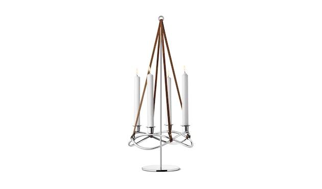 Georg Jensen - Season Aufsatz für Kerzenhalter - roestvrij staal hoogglans - 1