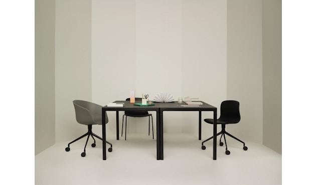 HAY - About a Chair AAC 21 - bezogene Sitzschale - Remix133 - Aluminium poliert - 7