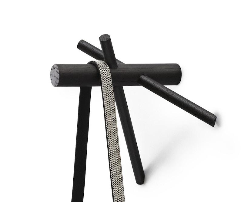 Normann Copenhagen - Sticks kledingkast - zwart - 4