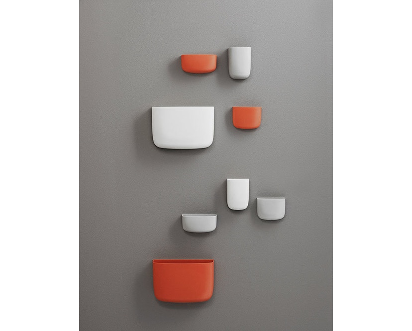 Normann Copenhagen - Pocket Wandaufbewahrung 2 - orange - 7