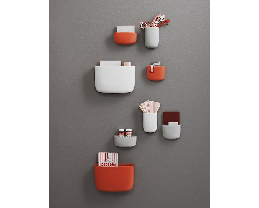 Normann Copenhagen - Pocket Wandaufbewahrung 2 - orange - 8
