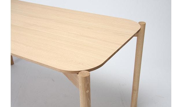 Karimoku New Standard - Castor Tisch quadratisch - Eiche - 3