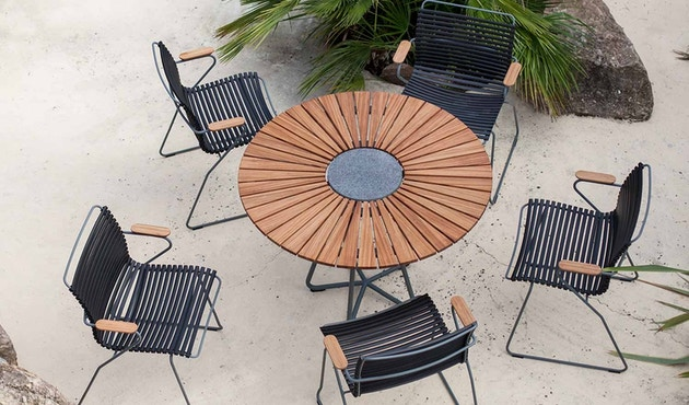 Houe - Table Circle Aluminium - 2