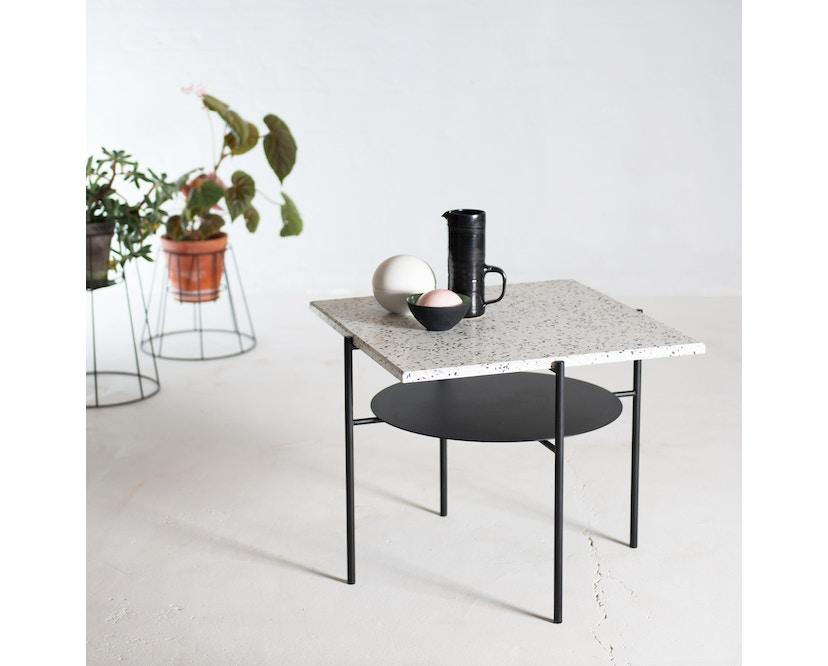 OK Design - Confetti Kaffeetisch - Black + Black n White - 2