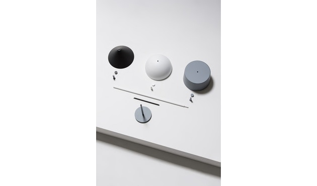 Wästberg - Nendo w132 tafellamp - cilinder - wit - 3