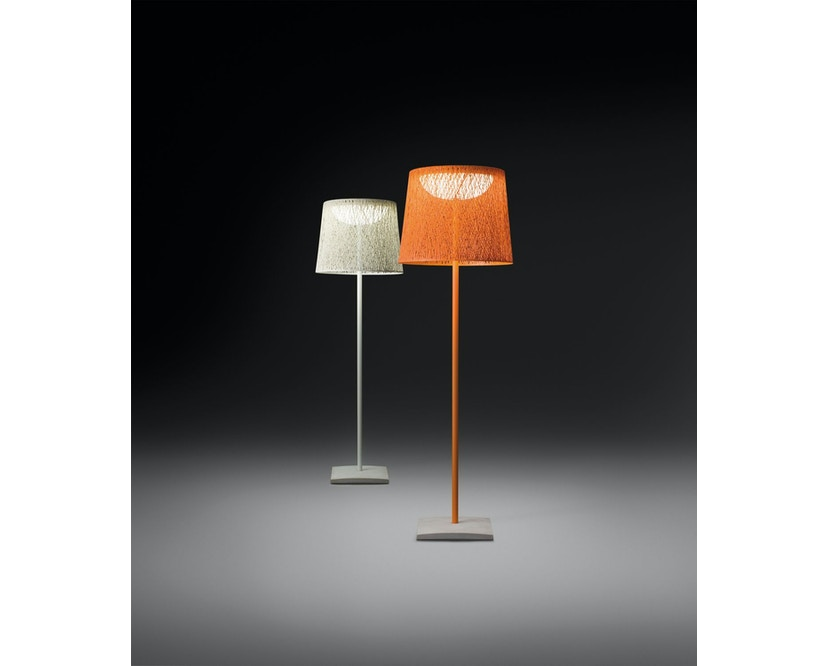 Vibia - Wind Stehleuchte - schmal - ocre rot  - 4