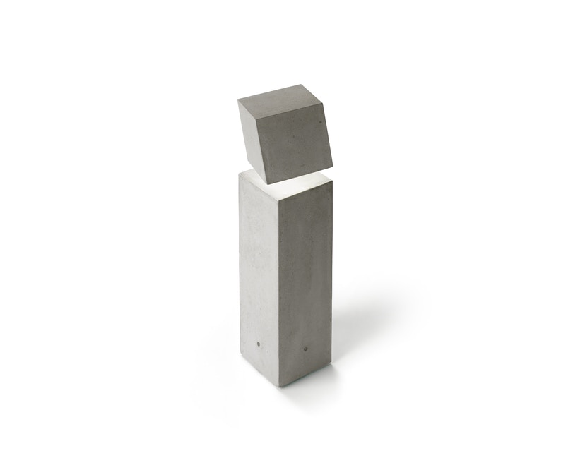 Vibia - Break Outdoor Stehleuchte - Groß - betongrau - 1