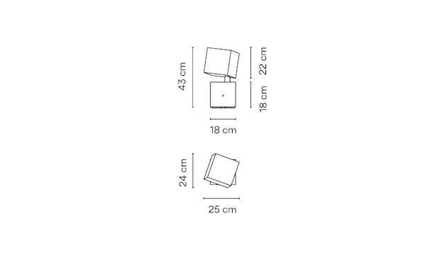 Vibia - Break Outdoor Stehleuchte - Mittel - betongrau - 2