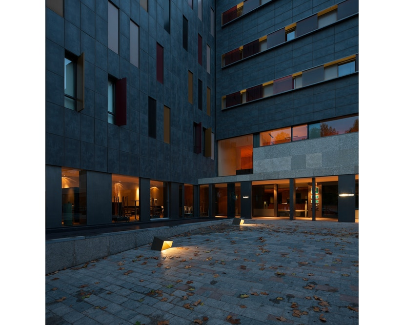 Vibia - Break Outdoor Stehleuchte - Groß - betongrau - 5