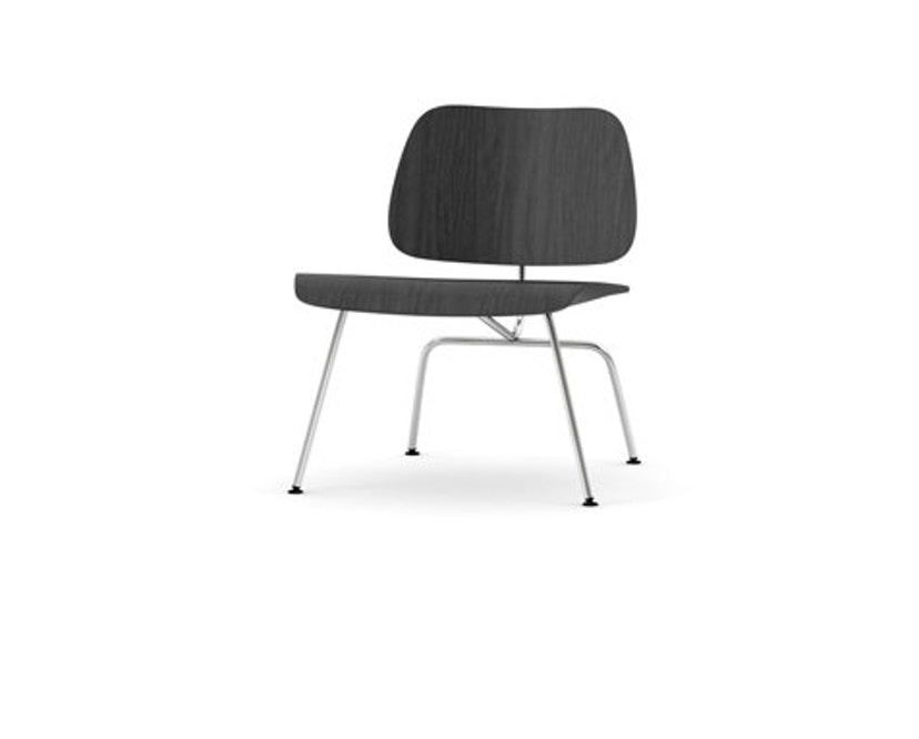 Vitra - Plywood Group LCM Stuhl - Esche schwarz - 0