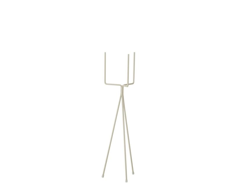 ferm LIVING - Plant Stand Pflanzenhalter - Light Grey - Tief - 1