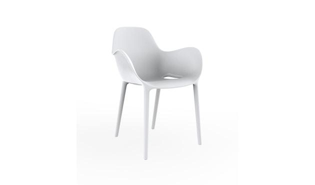 Vondom - Sabinas Armlehnstuhl - weiß - 1