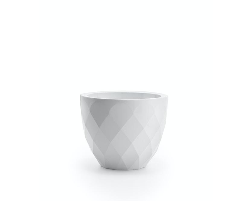 Vondom - VASES Blumentopf groß - weiß - Ø 55 x 45 cm - Basic - 1