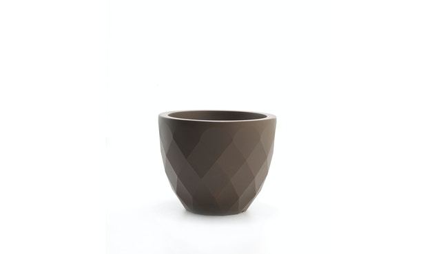 Vondom - VASES bloempot klein - basic - brons - Ø 14 x 12 cm - 1