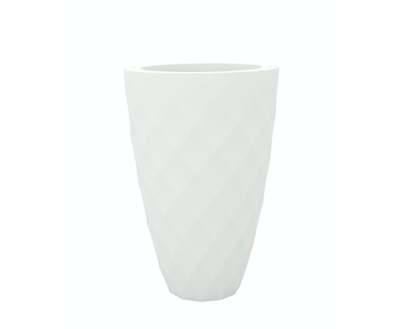 Vondom - VASES Blumentopf groß - weiß - Ø 65 x 100 cm - Basic - 1