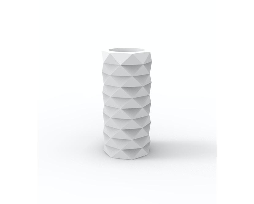 Vondom - MARQUIS Blumentopf - weiß - Ø 25 x 53 cm - Basic - 1