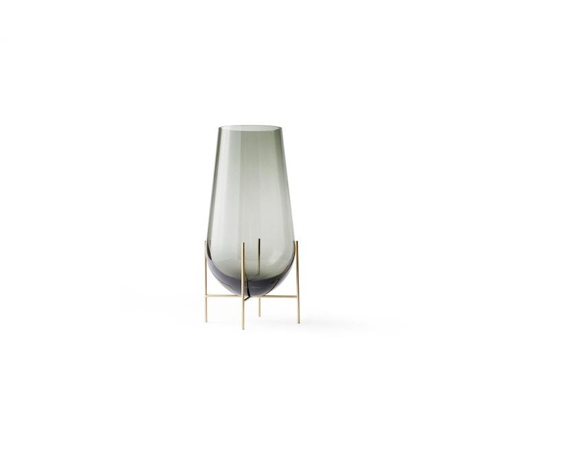 Menu - Vase Échasse - verre fumé - S - 1
