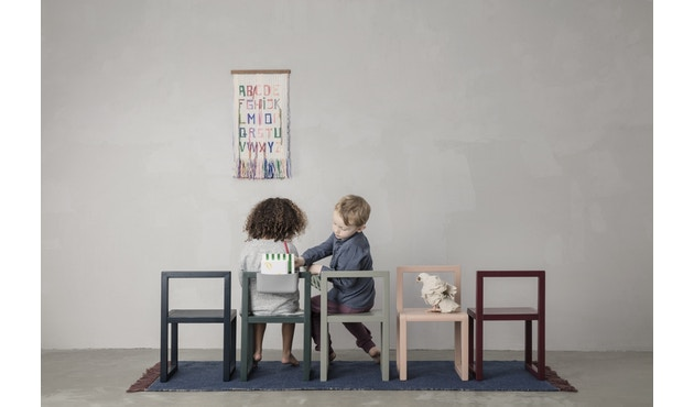 ferm LIVING - Little Architect Tisch - bordeaux - 4