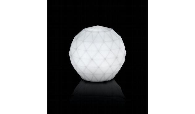 Vondom - VASES Bodenleuchte - weiß - Ø 30 cm - weiße LED - 2