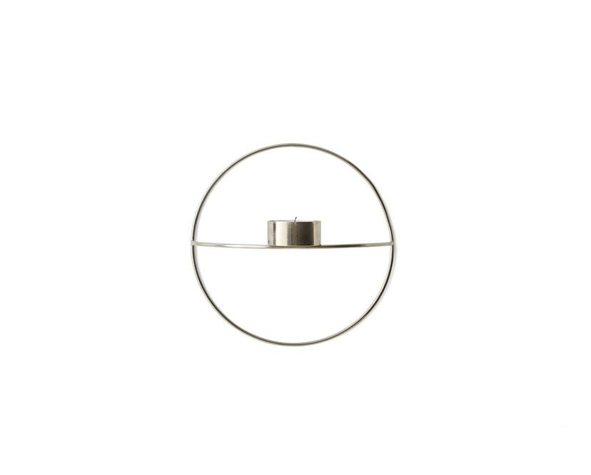 Menu - POV Circle Teelichthalter - schwarz - S - 2