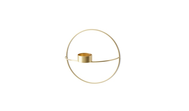 Menu - POV Circle Teelichthalter - messing - S - 3