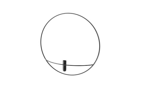 Menu - POV Circle Vase - schwarz - 1