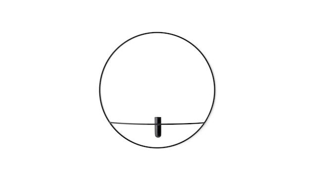 Menu - POV Circle Vase - schwarz - 2