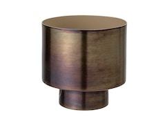 Blumentopf, Gold, Aluminium