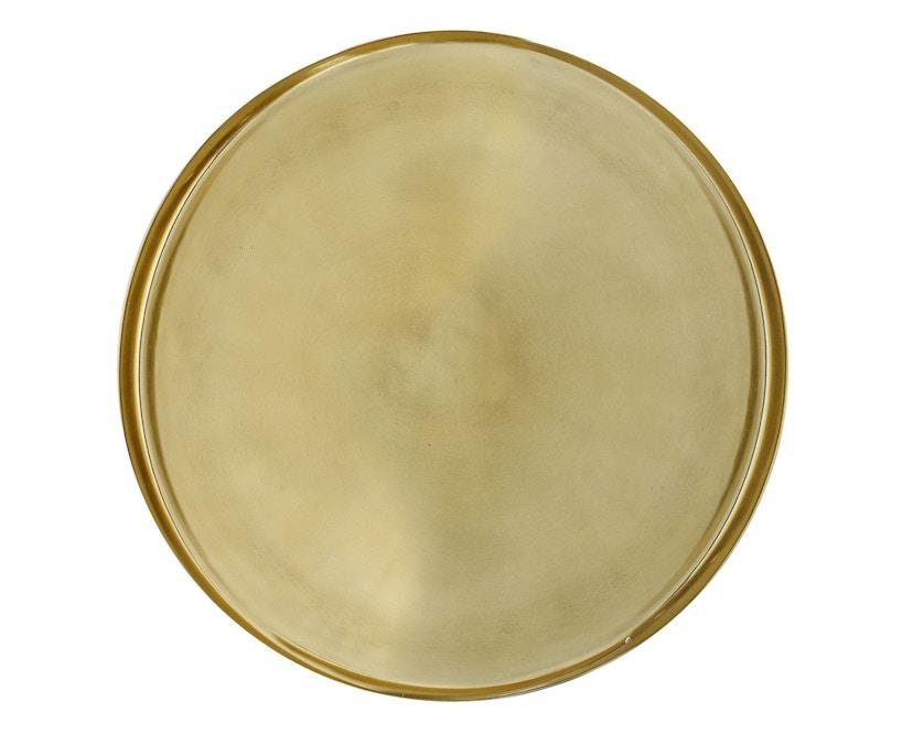 Bloomingville - Tablett, Gold, Aluminium - 1