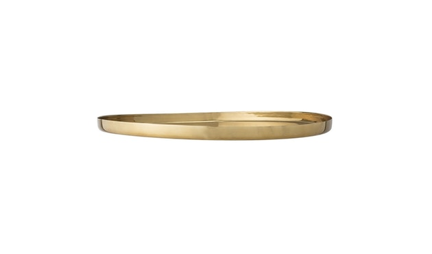 Bloomingville - Tablett, Gold, Aluminium - 0