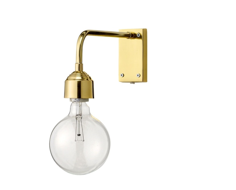 Bloomingville - Wandleuchte, Gold, Metall - 0