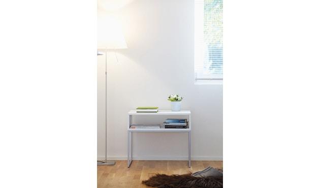 Jan Kurtz - Dina Nachttisch - Esche weiß/schwarz - 3