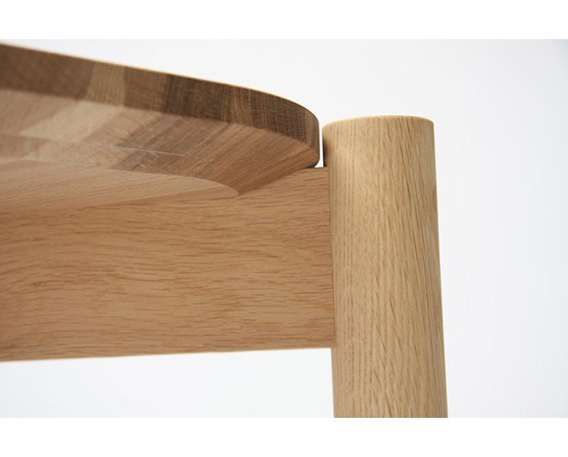 Karimoku New Standard - Castor Tisch quadratisch - Eiche - 4