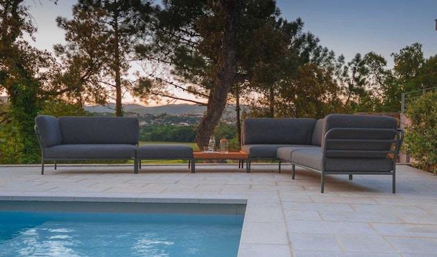 Houe - Level Lounge sofa - Armleuning rechts - Basic - donkergrijs - 2